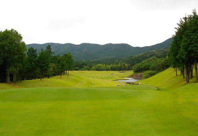 石岡ゴルフ倶楽部 ウエストコースゴルフ場の写真 1-9 ゴルフ ...